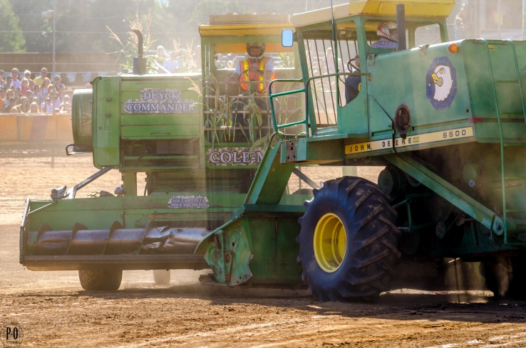 Combine Demolition Derby in Banks, Oregon