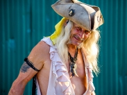 Rebel poses for a portrait photo at The Oregon Renaissance Festival of Hillsboro