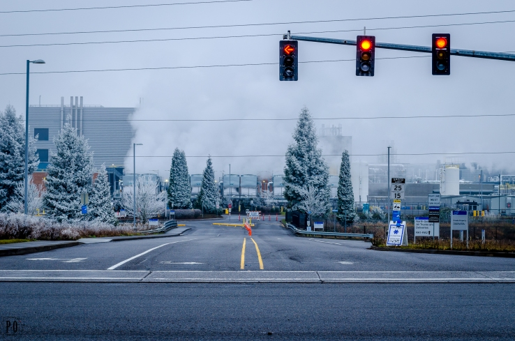 Photo of a Intel campus Hillsboro Oregon