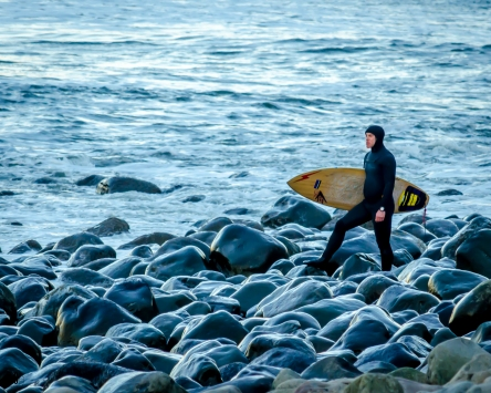 surfing photography Seaside Oregon