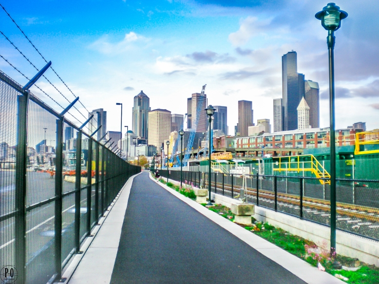 landscape photography of downtown Seattle skyline