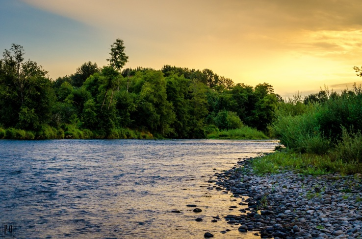 McKenzie River Sunset photo by Paul Ottaviano