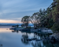 landscape photography Lopez Sound WA