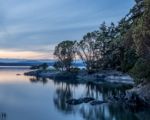 landscape photography Lopez Sound WA