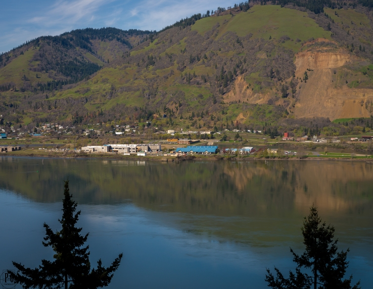 landscape photography Columbia River