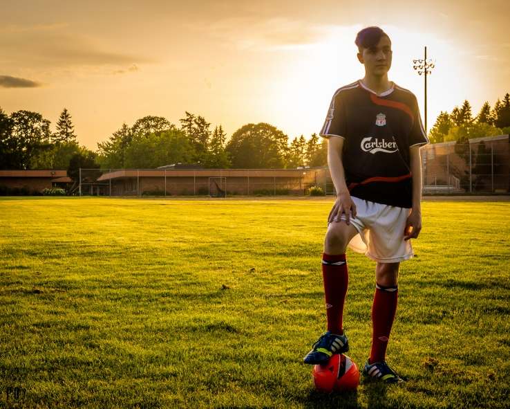 soccer portraits Beaverton Oregon