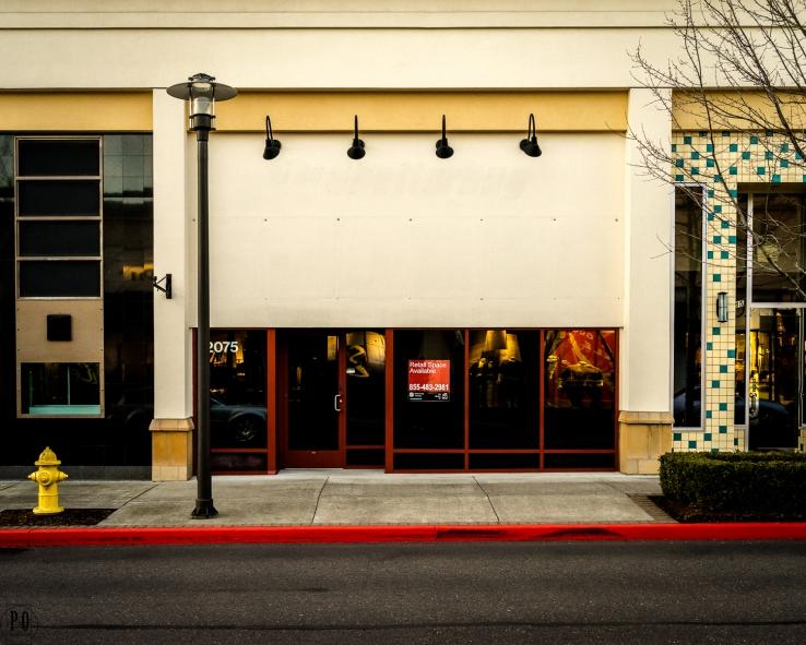 empty retail space Hillsboro Oregon