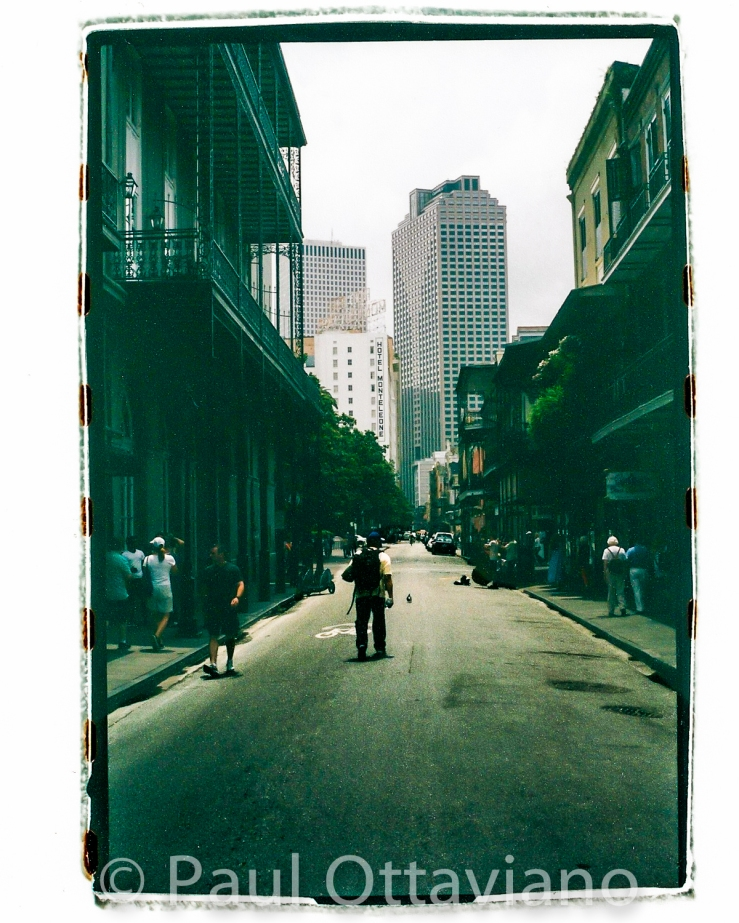 Film photo of French Quarter and CBD New Orleans by Paul Ottaviano