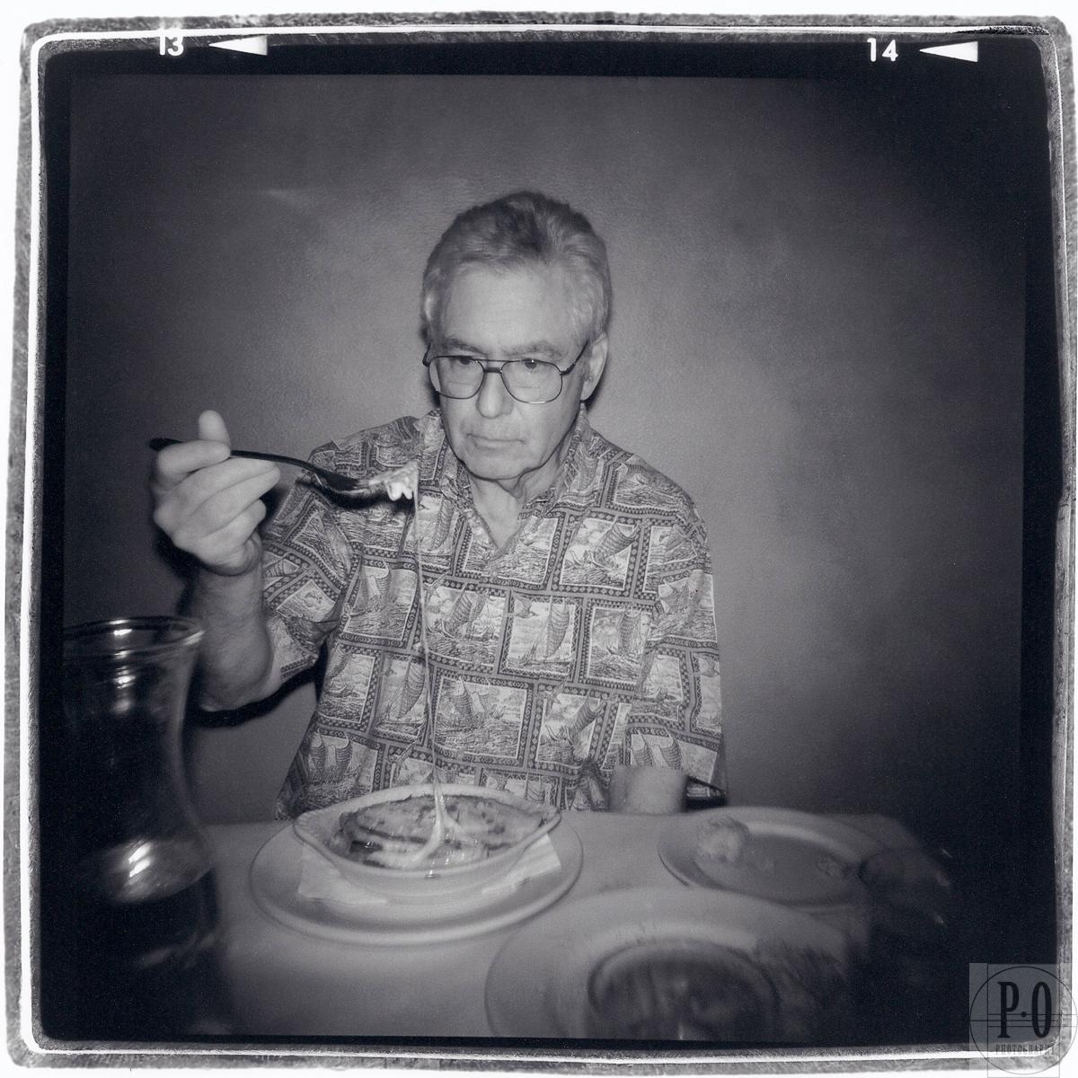 holga film camera portrait