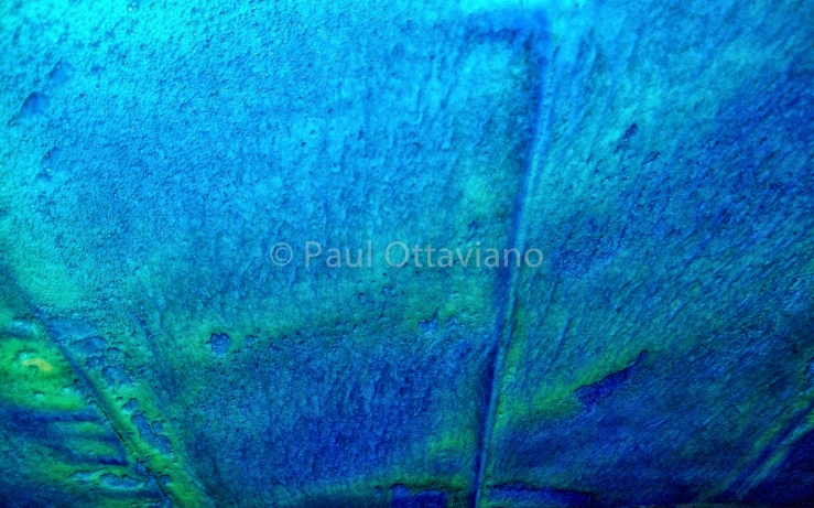 abstract photo blue and green