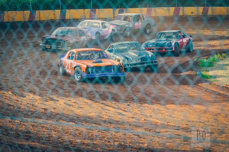 local car races dirt oval track sunset speedway banks oregon