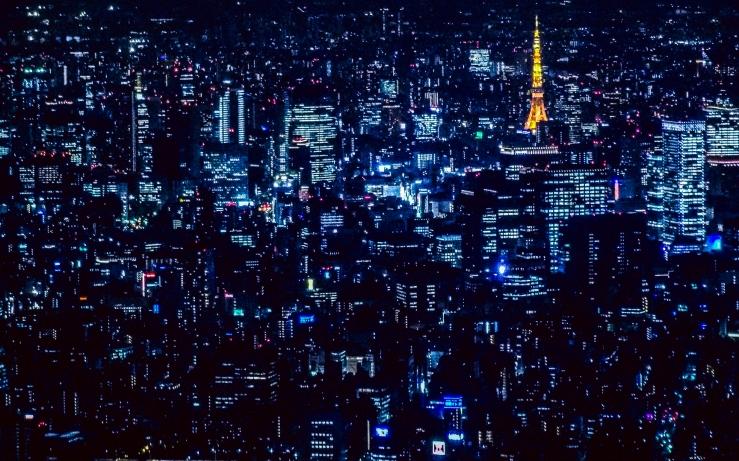 night landscape photography Tokyo Japan Nihon 東京 日本